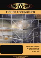 Fiches techniques SWS