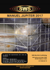 Notice SWS JUPITER 2017 - première page