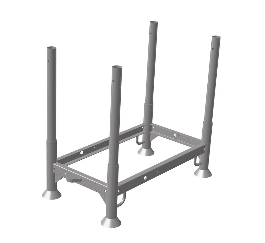 rack de stockage s sky walk scaffolding. Black Bedroom Furniture Sets. Home Design Ideas